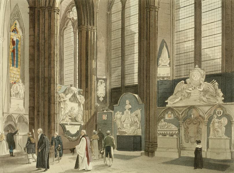 The History of the Abbey Church of St. Peter's Westminster Vol. 2 - 9th, 10th, 11th Windows, North Aisle (1812)
