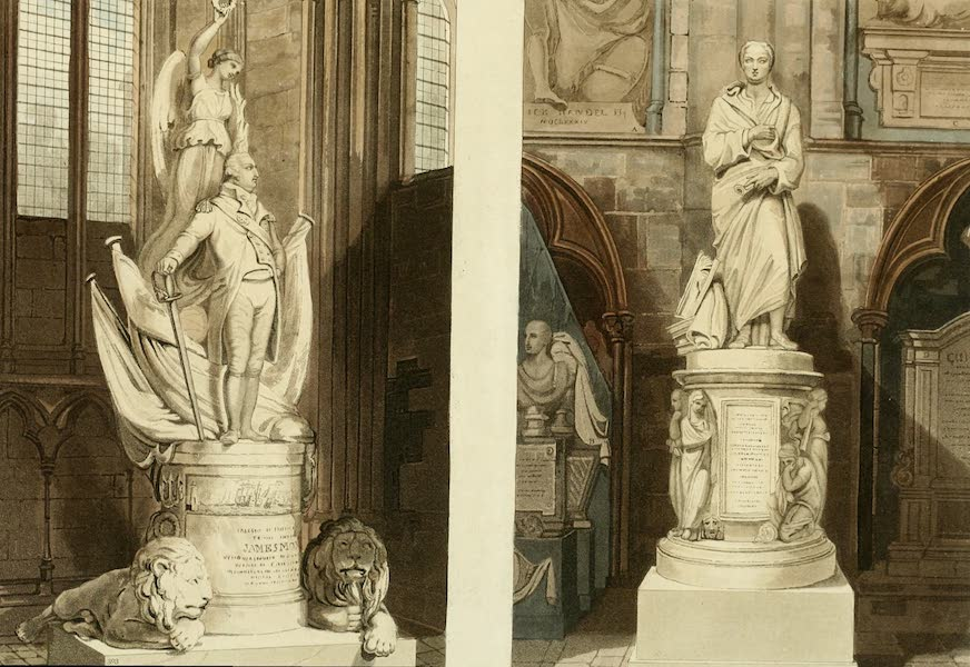 The History of the Abbey Church of St. Peter's Westminster Vol. 2 - [2 Monuments] (1812)