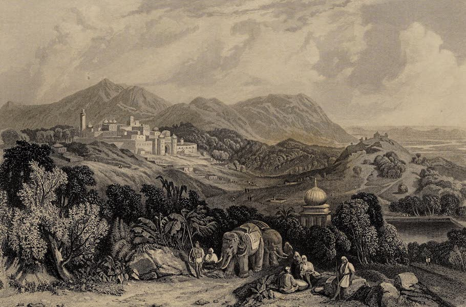 The History of the Indian Mutiny Vol. 1 - The Fortress of Nahan in the Dominion of Oude (1858)