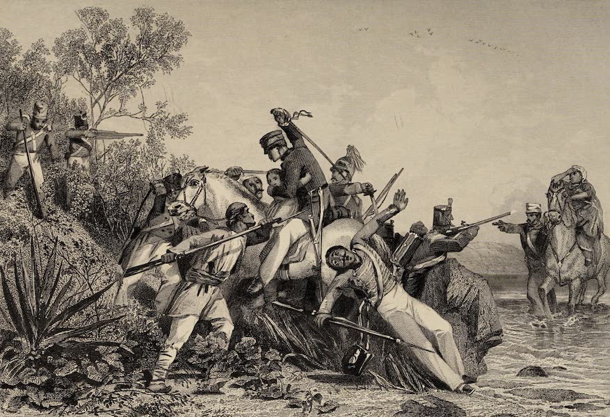 The History of the Indian Mutiny Vol. 1 - Fugitive British Officers and Their Families Attacked by Mutineers (1858)