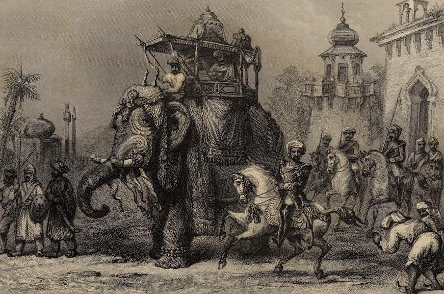 The History of the Indian Mutiny Vol. 2 - The Nana Sahib with His Escort (1859)