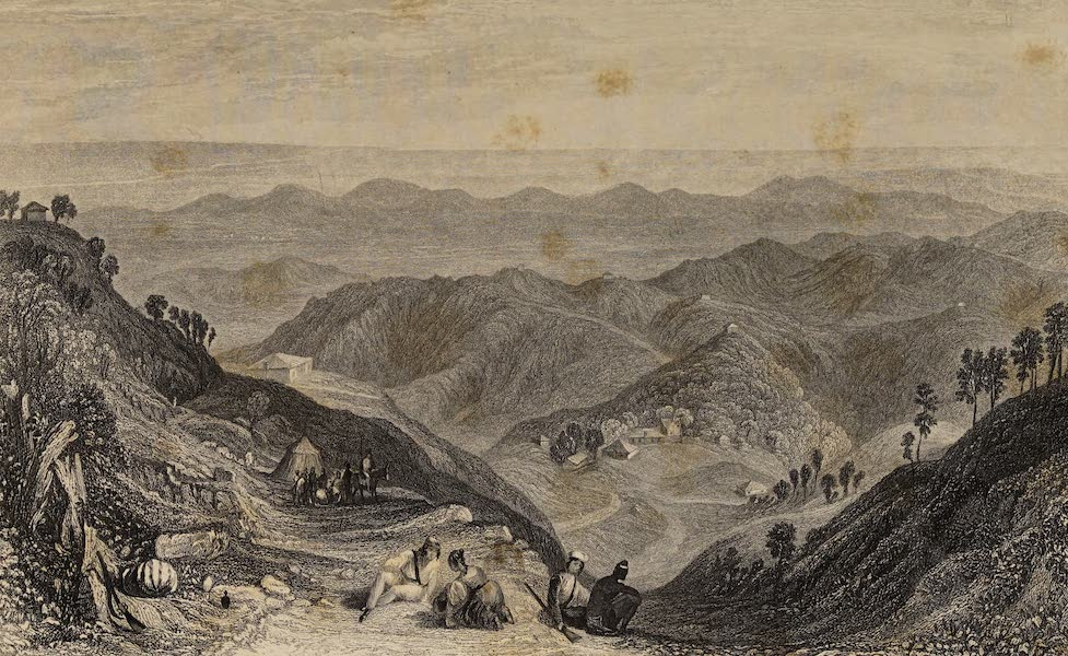 The History of the Indian Mutiny Vol. 2 - Mussooree and the Dhoon, from the Landour (1859)