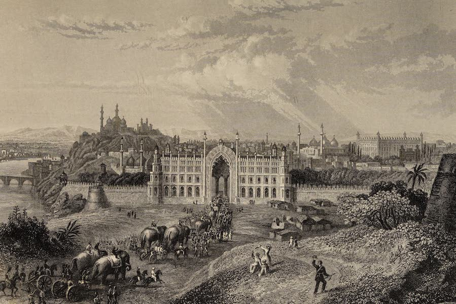 The History of the Indian Mutiny Vol. 2 - View of Lucknow (1859)