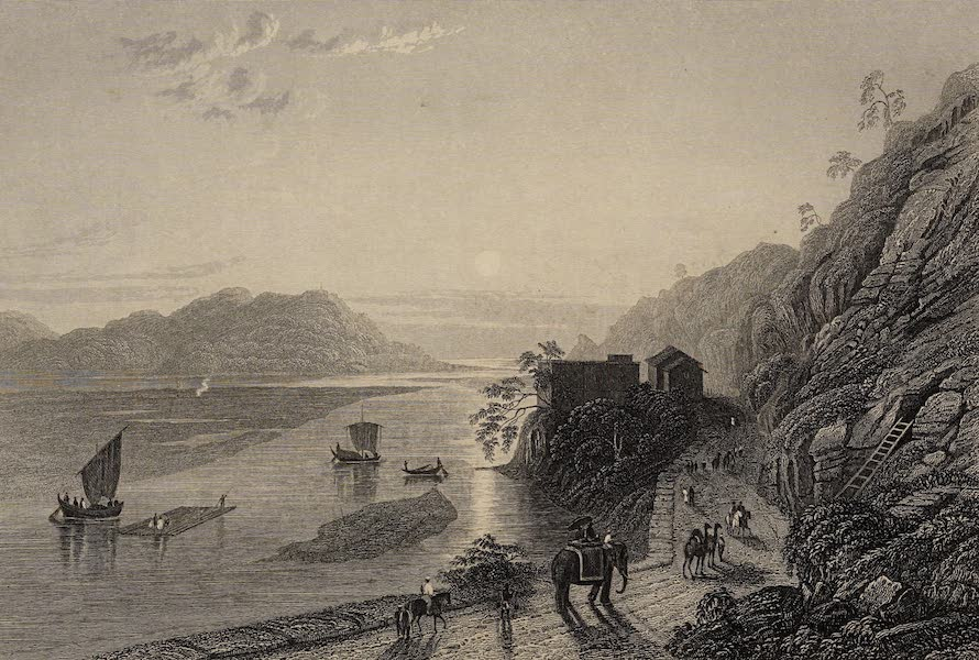 The History of the Indian Mutiny Vol. 2 - The Ganges Entering the Plains near Hurdwar (1859)