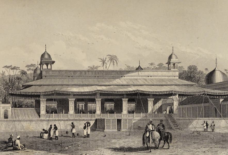 The History of the Indian Mutiny Vol. 2 - The Dewas Khan, or Hall of Audience - Palace of Delhi (1859)