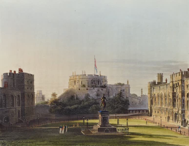 History of the Royal Residences Vol. 1 - The Upper Ward, Windsor Castle (1819)