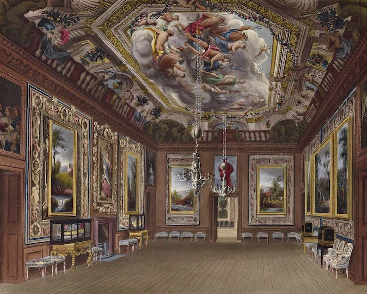 History of the Royal Residences Vol. 1 - The Queen's Drawing Room, Windsor Castle (1819)