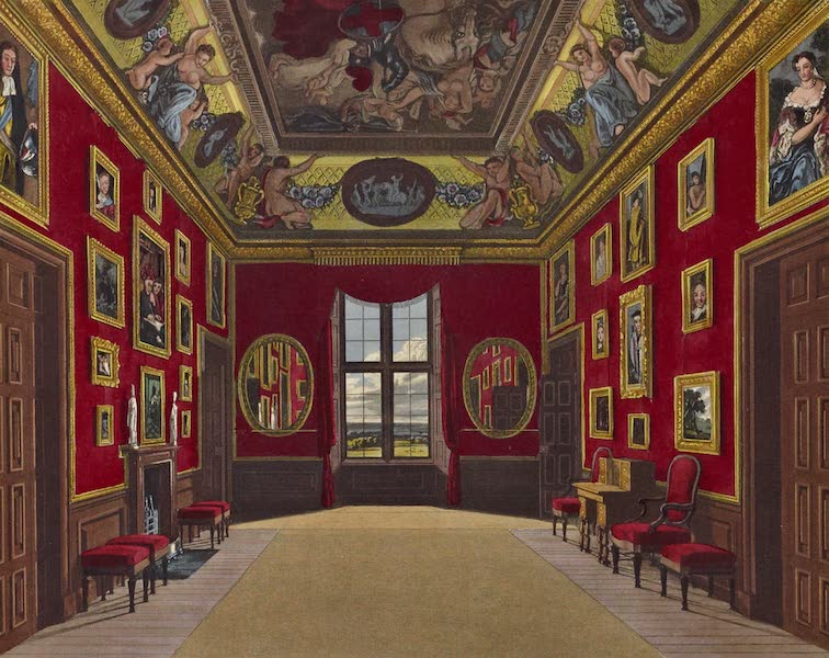 History of the Royal Residences Vol. 1 - The King's Closet, Windsor Castle (1819)