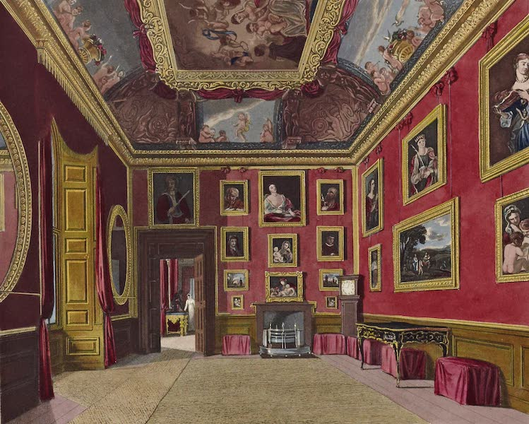 History of the Royal Residences Vol. 1 - The King's Dressing Room, Windsor Castle (1819)