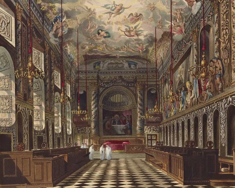 History of the Royal Residences Vol. 1 - The Royal Chapel, Windsor Castle (1819)