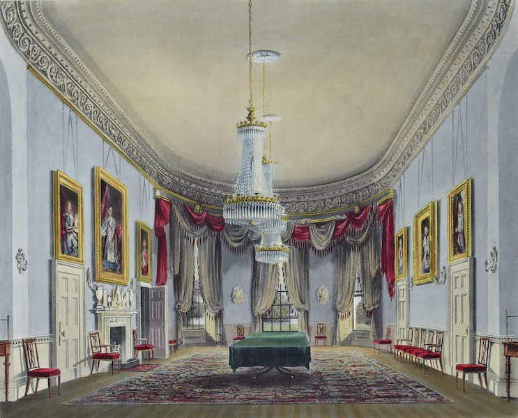 History of the Royal Residences Vol. 1 - The Dining Room, Frogmore (1819)