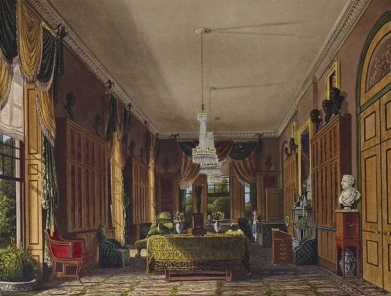 History of the Royal Residences Vol. 1 - The Queen's Library, Frogmore (1819)