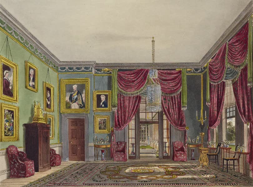 History of the Royal Residences Vol. 1 - The Green Pavilion, Frogmore (1819)