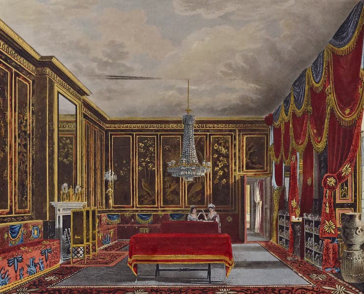 History of the Royal Residences Vol. 1 - The Japan Room, Frogmore (1819)