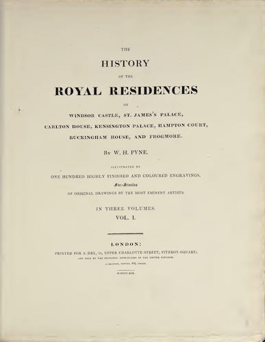 Great Britain - History of the Royal Residences Vol. 1