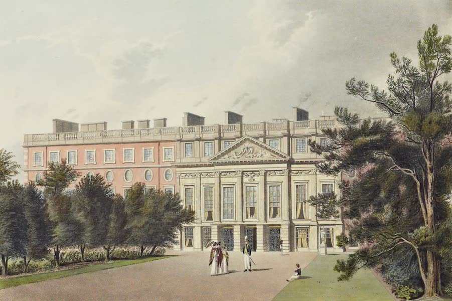 History of the Royal Residences Vol. 2 - Hampton Court Palace (1819)