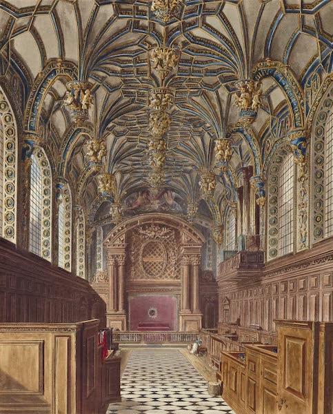 History of the Royal Residences Vol. 2 - The Chapel, Hampton Court (1819)