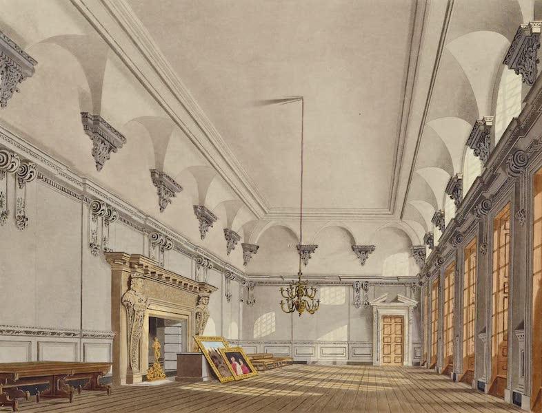 History of the Royal Residences Vol. 2 - Banqueting Hall, Hampton Court (1819)