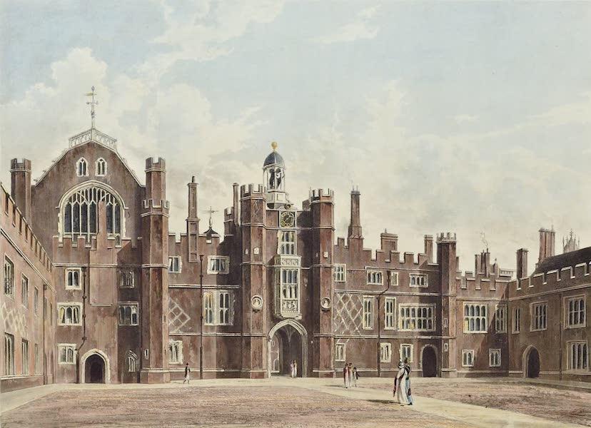 History of the Royal Residences Vol. 2 - Quadrangle, Hampton Court (1819)