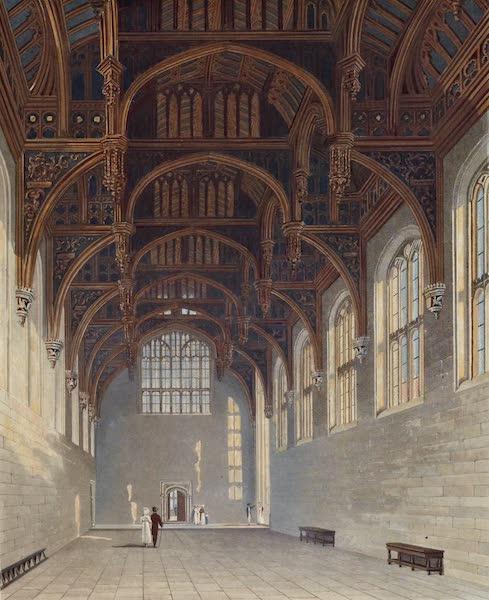 History of the Royal Residences Vol. 2 - Gothic Hall, Hampton Court (1819)