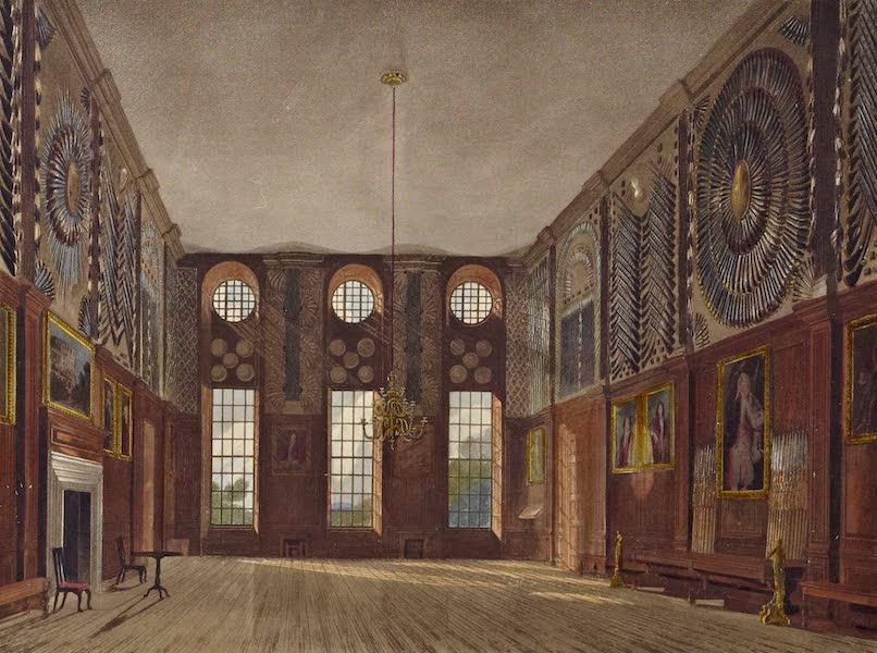 History of the Royal Residences Vol. 2 - Guard Chamber, Hampton Court (1819)