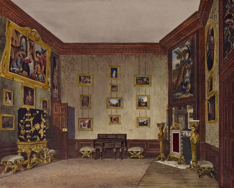 History of the Royal Residences Vol. 2 - King's Writing Closet, Hampton Court (1819)