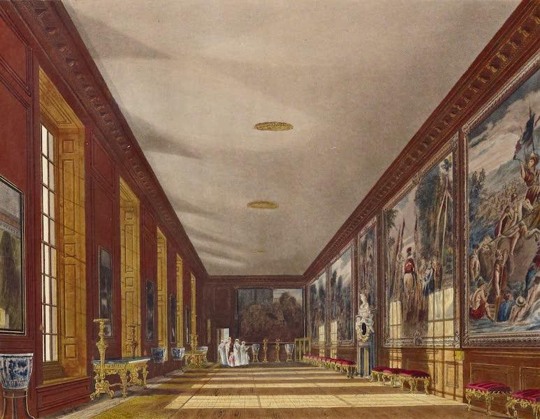 History of the Royal Residences Vol. 2 - The Ball Room, Hampton Court (1819)