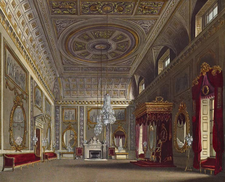 History of the Royal Residences Vol. 2 - The Saloon, Buckingham House (1819)