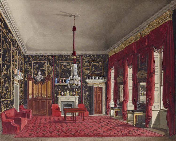 History of the Royal Residences Vol. 2 - The Queen's Breakfast Room, Buckingham House (1819)
