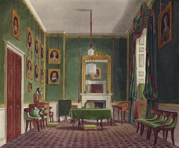 History of the Royal Residences Vol. 2 - The Green Closet, Buckingham House (1819)