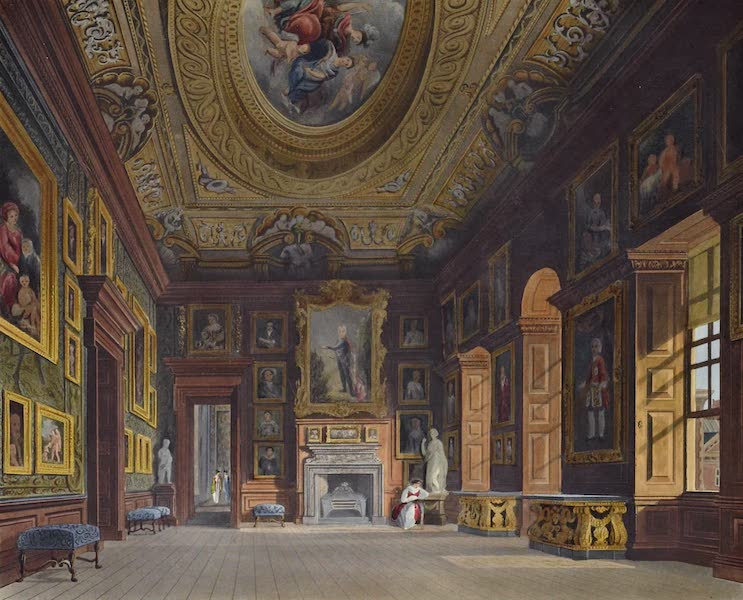 History of the Royal Residences Vol. 2 - Queen Caroline's Drawing Room, Kensington Palace (1819)