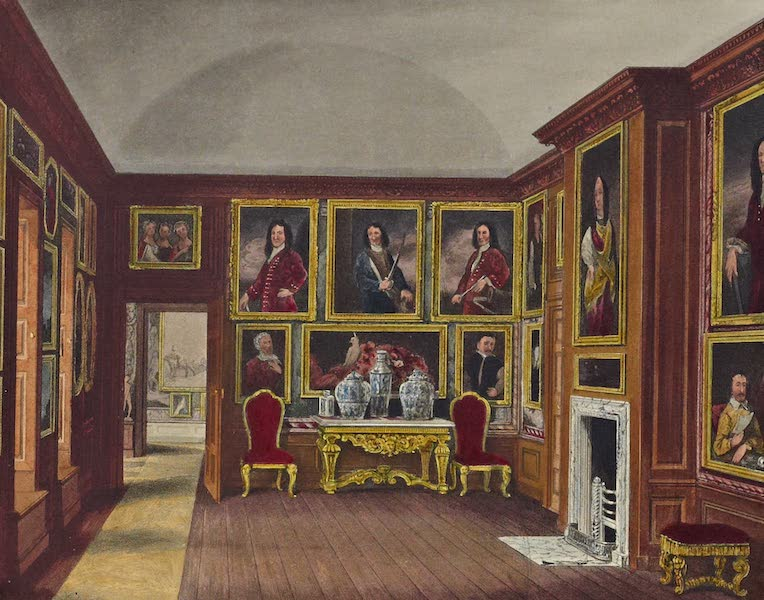 History of the Royal Residences Vol. 2 - The Admiral's Gallery, Kensington Palace (1819)