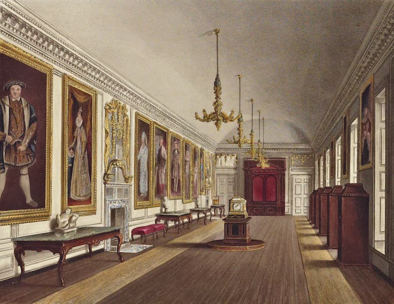 History of the Royal Residences Vol. 2 - The Queen's Gallery, Kensington Palace (1819)