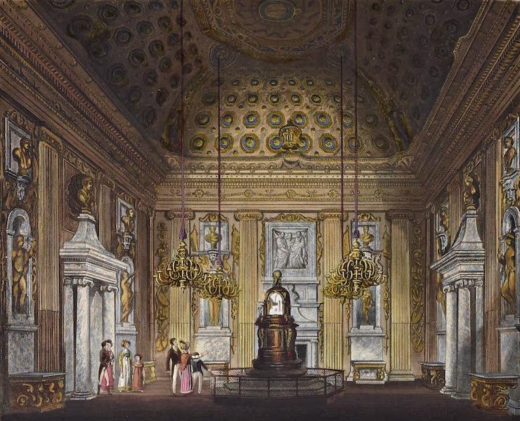 History of the Royal Residences Vol. 2 - The Cupola Room, Kensington Palace (1819)