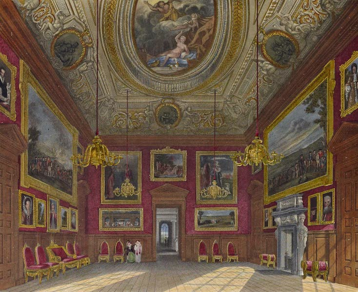History of the Royal Residences Vol. 2 - The King's Great Drawing Room, Kensington Palace (1819)
