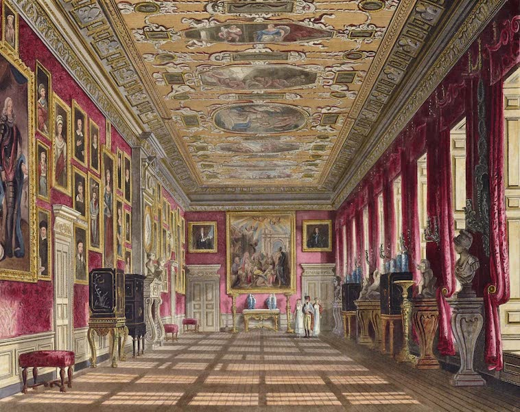History of the Royal Residences Vol. 2 - The King's Gallery, Kensington Palace (1819)