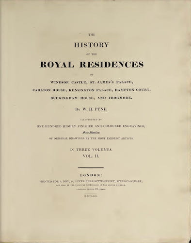 Great Britain - History of the Royal Residences Vol. 2