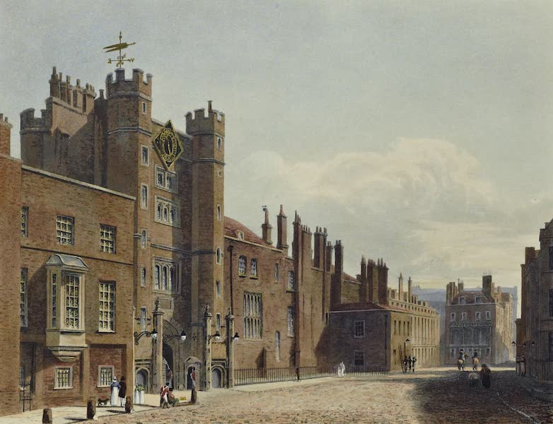 History of the Royal Residences Vol. 3 - St. James's Palace (1819)