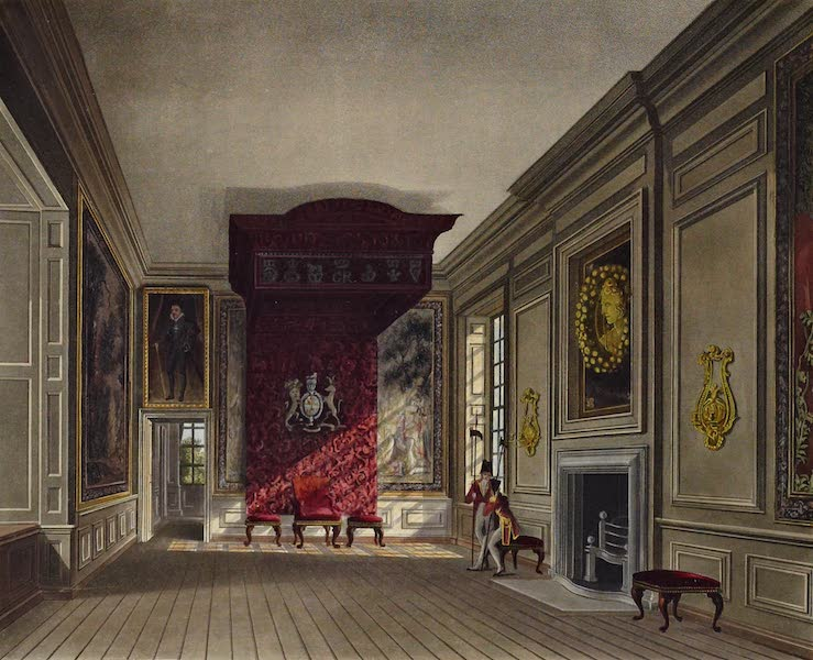 History of the Royal Residences Vol. 3 - The King's Presence Chamber, St James's (1819)