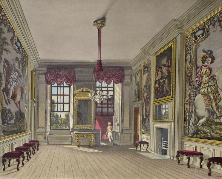 History of the Royal Residences Vol. 3 - The Queen's Levee Room, St James's (1819)