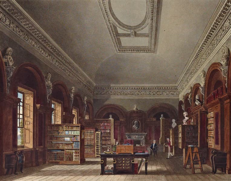 History of the Royal Residences Vol. 3 - The Queen's Library, St James's (1819)
