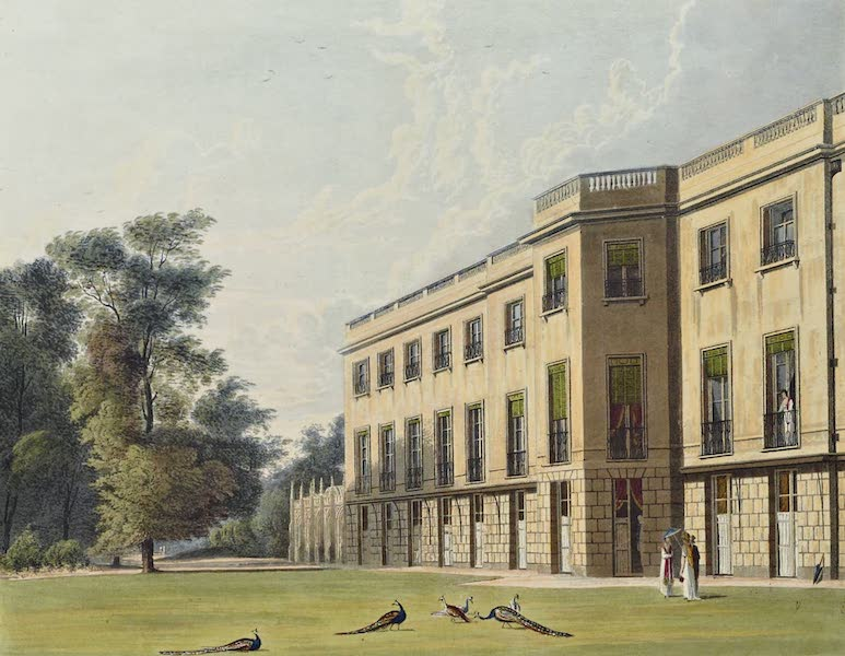 History of the Royal Residences Vol. 3 - Carlton House, South Front (1819)