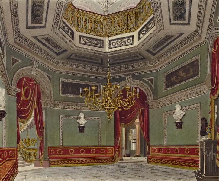 History of the Royal Residences Vol. 3 - The Vestibule, Carlton House (1819)