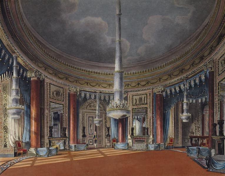 History of the Royal Residences Vol. 3 - The Circular Room, Carlton House (1819)