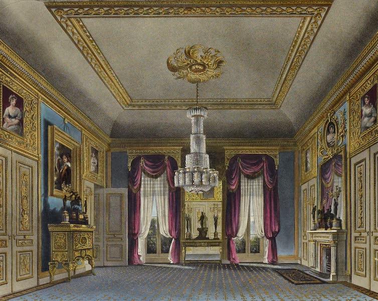 History of the Royal Residences Vol. 3 - Ante Room, Carlton House (1819)
