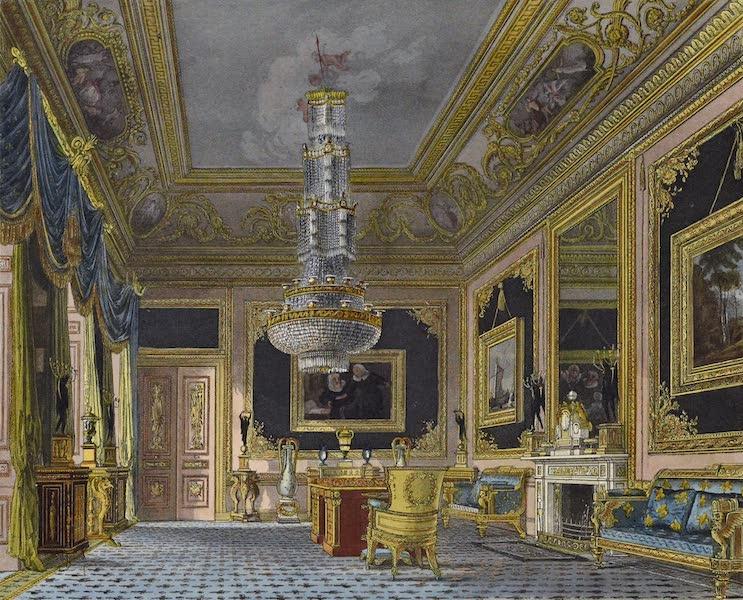 History of the Royal Residences Vol. 3 - The Blue Velvet Room, Carlton House (1819)