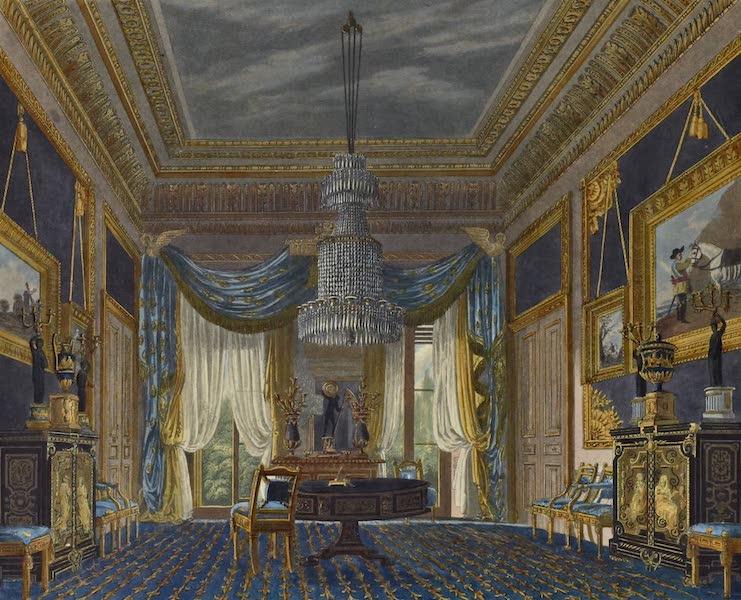 History of the Royal Residences Vol. 3 - The Blue Velvet Closet, Carlton House (1819)