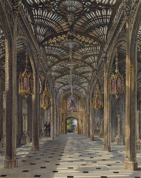 History of the Royal Residences Vol. 3 - The Conservatory, Carlton House (1819)