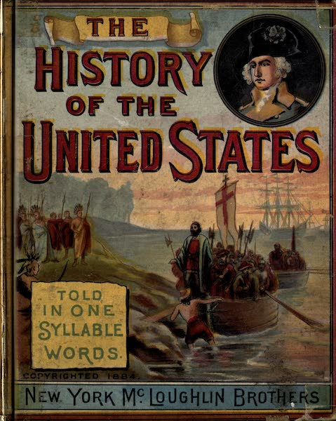 The History of the United States - Front Cover (1884)