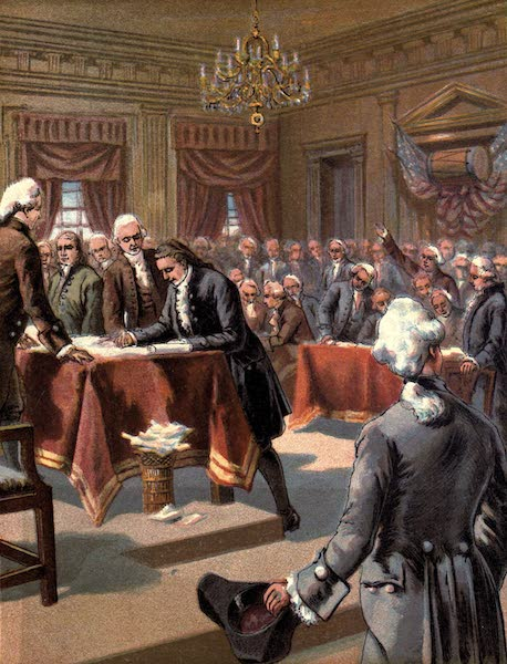The History of the United States - The Declaration of Independence (1884)
